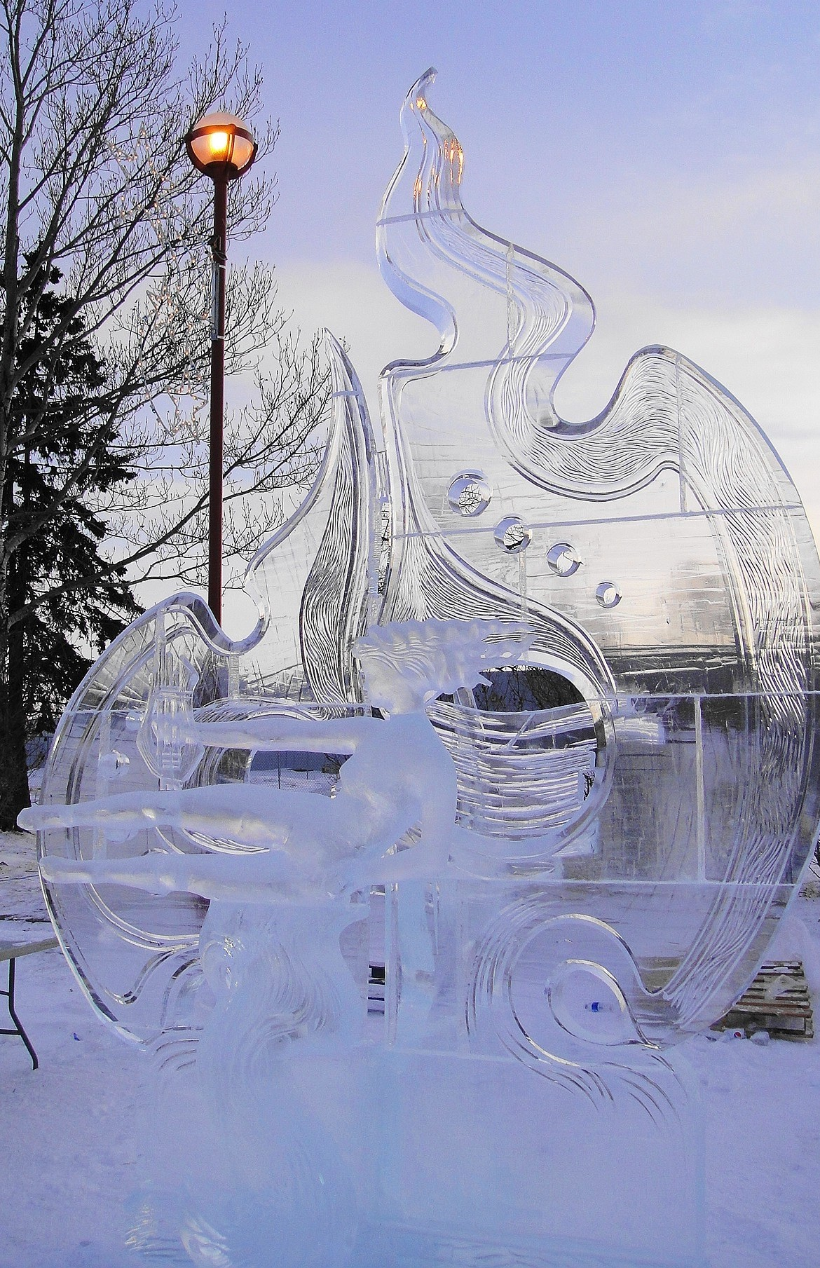ICE & SNOW CARVING COMPETITION A SUCCESS!