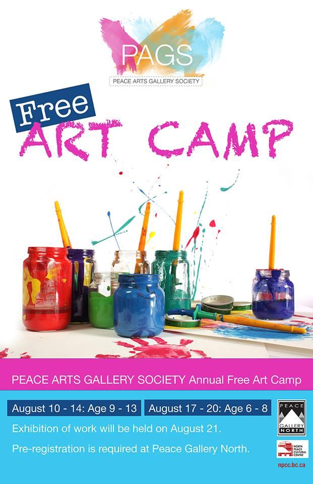 Free Art Camp