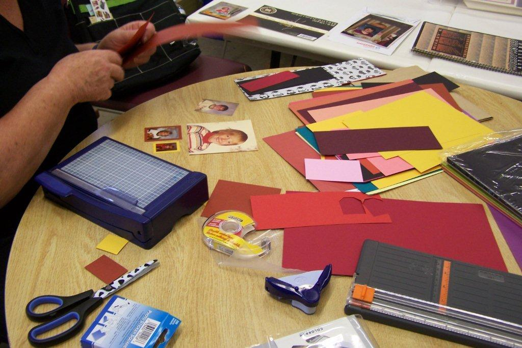 Scrapbooking Club Welcomes New Members