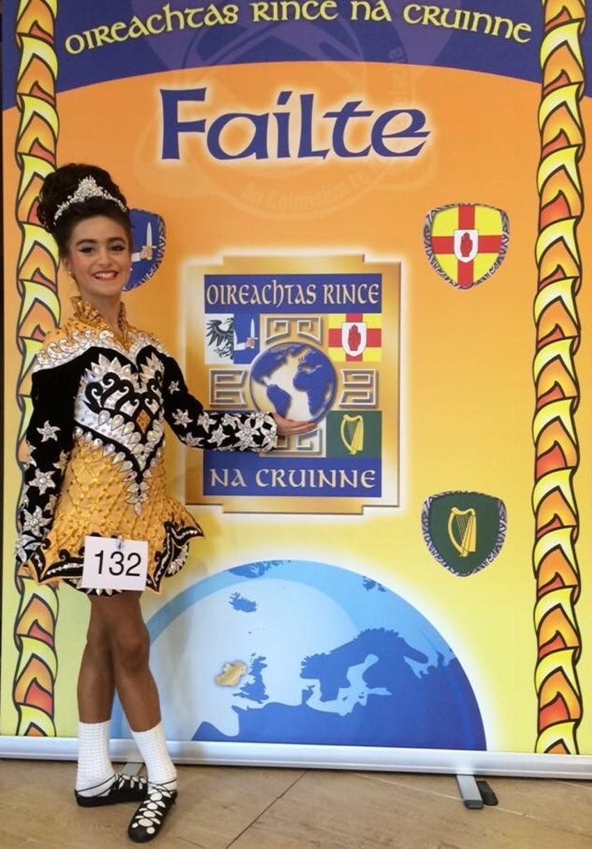 Success for Irish Dancer at World Championships