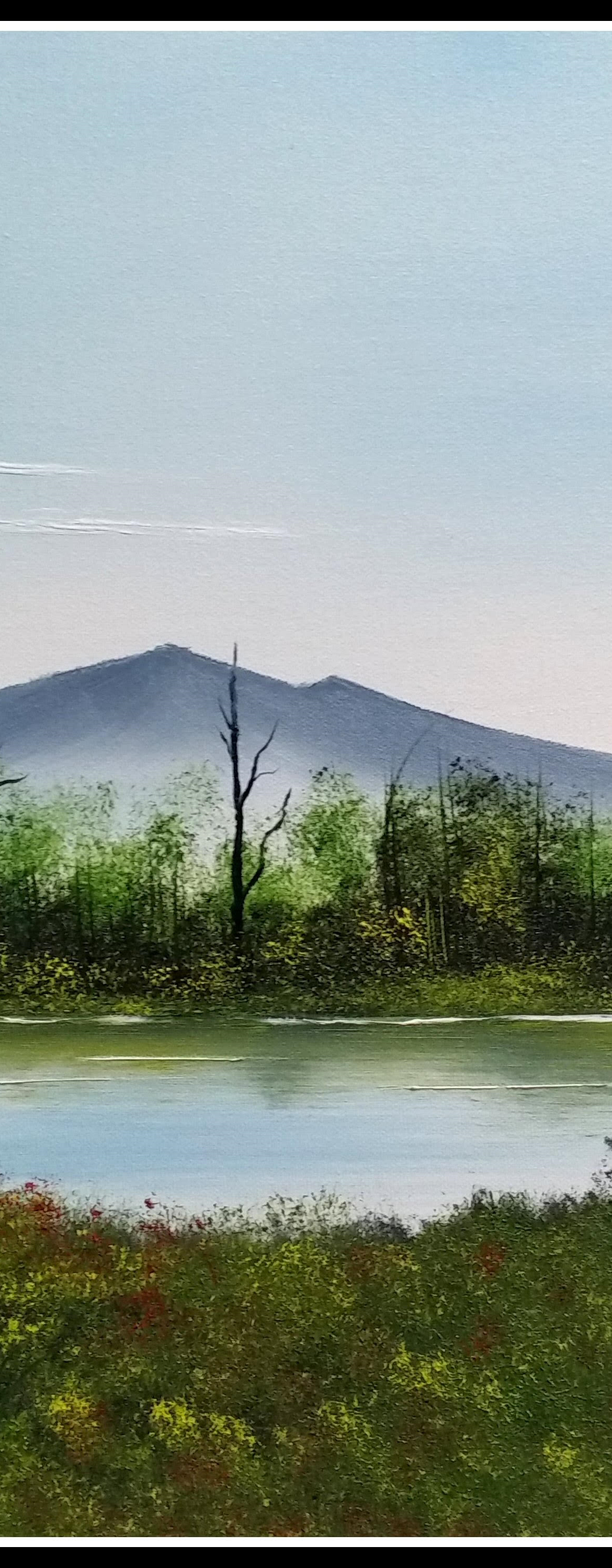 """Beyond the Evergreens"" painting class"