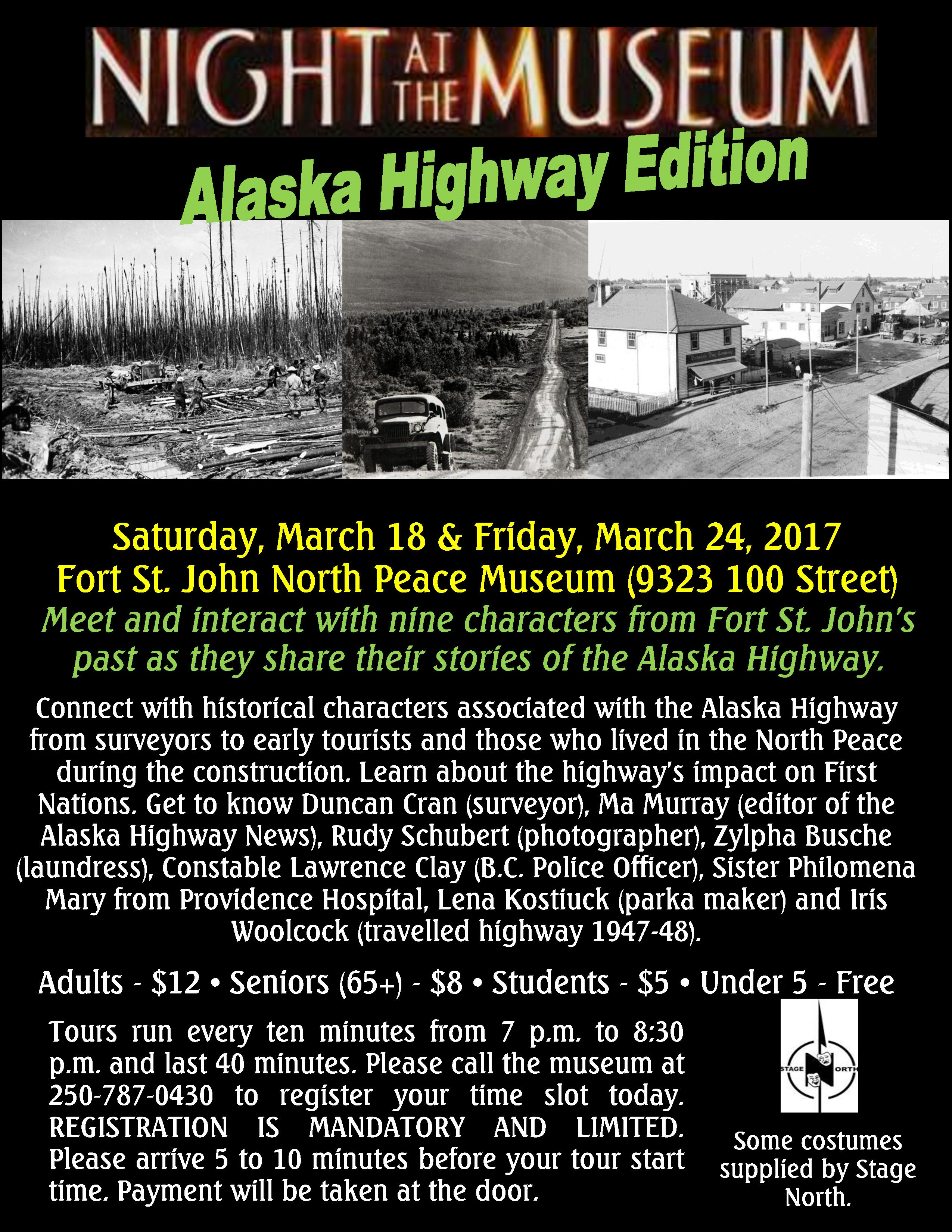 Night at the Museum Alaska Highway Edition Poster-page-001