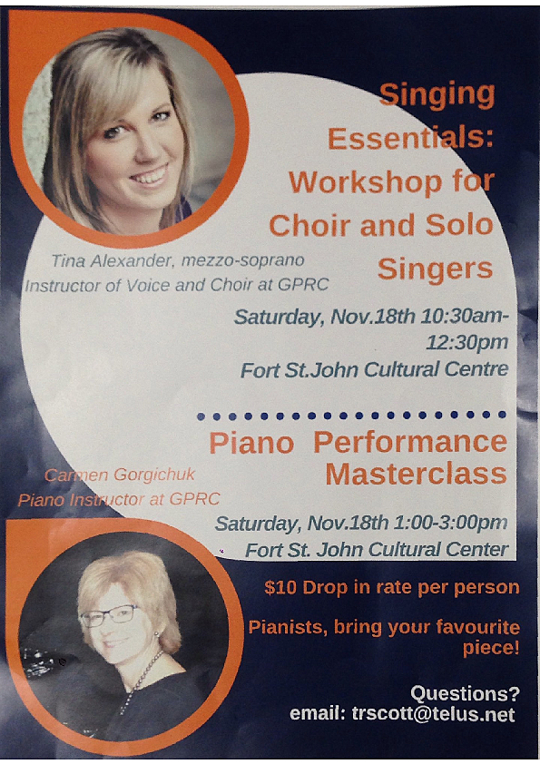 Vocal and Piano Workshops