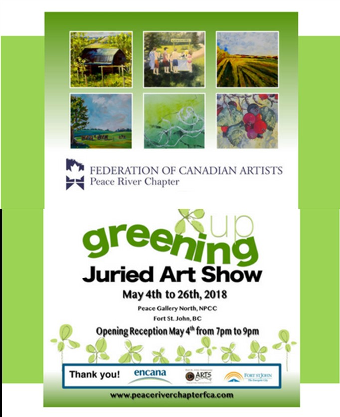 Greening Juried Art Show