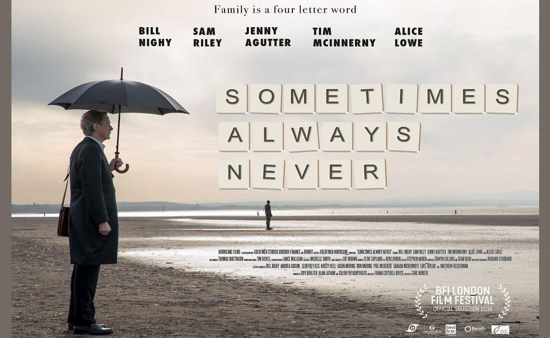 FSJ Film Society:  Sometimes Always Never