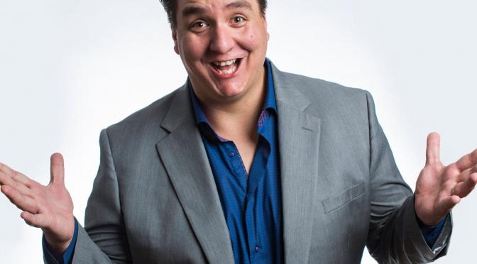 Comedian Mike Delamont